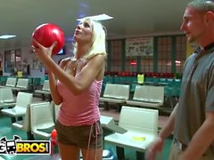 BANGBROS - Amateur Guy Gets To Go On Data con grandi tette MILF Puma Swede