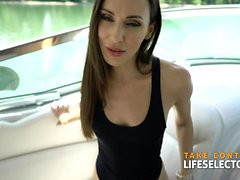 Yacht Sex with sexy teacher Lilu Moon