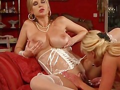 Extremely Hot Lesbian Milfs w/ Giant Tits