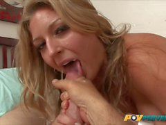Avy Scott Takes Cock in Her Pussy and Two Loads of Cum to He