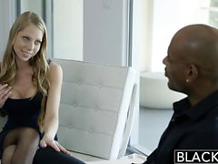 Blacked de Petite de Shawna Lenee Screams El Gran Negro a Dick