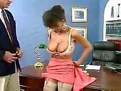 Horny Boss Fucks His New Secretary