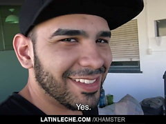 LatinLeche - Scruffy Stud si unisce a un Gay-for-Pay Porno