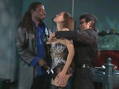Sasha Grey Gets Cum In Her Mouth After Raw Anal With A Black Man