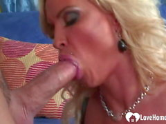 Busty blonde wife cheats with the neighbor