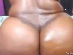 Ebony Bbw mostrando seus Ass Huge On Webcam On Camlivehub.e