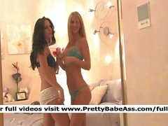 kirsten and natalie sexy girl looked at her film