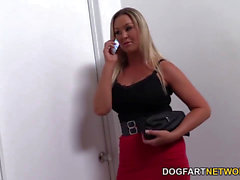 Abbey Brooks Cheats On Her bf With A dark-hued Stranger