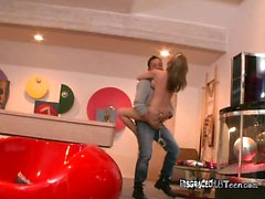 Naked Hottie Madison Scott Does Pole Dancing