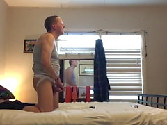 Gray haired dad 1 fucked by big dick