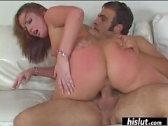 Flower Tucci can make a dick disappear with her ass