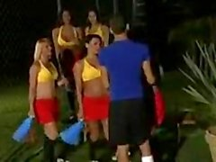 Gangbanged by Transsexuals 1 cheerleaders