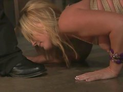 Flower Tucci Braces Herself For A Giant Black Penis