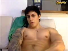 Sexy assolo gay in webcam