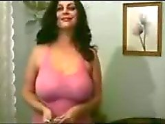 Babe big tits brakess smoking fetish