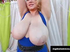 Cuba's Angelina Castro Has A FOURSOME BlowJob & 6 HUGE TITS!