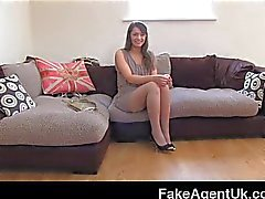 FakeAgentUK - Squirting vom hairy pussy