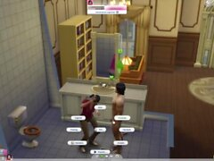 'Fucking the big-boot librarian in a public toilet. [Sims 4] [Recovered