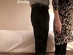 55 years old milf fucking a stranger on hidden cam