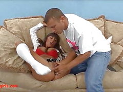 big boob asian slut hard face scopata e culo scopato in assh