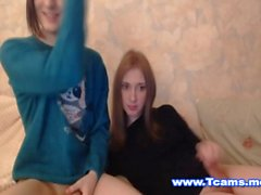 Cute Teen Trannies Giving a Hand