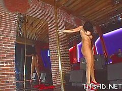 mesmerizing jada fire enjoys shaking her shapes