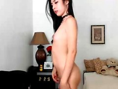 Small Tits Asian Webcam Chick Got A Toy