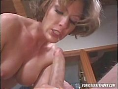 Saskia Sucks A Hard Cock