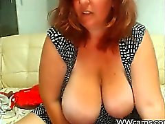 Mature with Big Tits Squirts