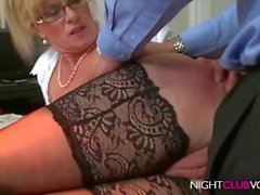 Big Boobs Blond MILF got fucked by Stranger
