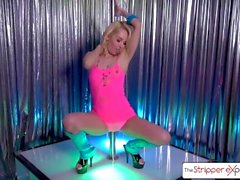 Hermosa rubia follada duro, Aaliyah Love - The Stripper Experience