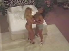 Devon Michaels and Tanya Danielle lesbians trib tribbing