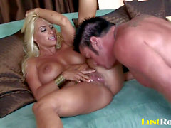 Only cum can tame the mischievous Holly Halston