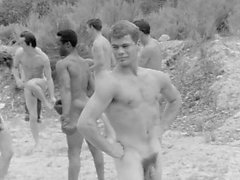 Vintage Boys Playing Sports... Nude (No Sex)