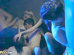 Hot group sex with horny students