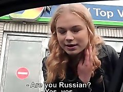 Beautiful Russian girl Nishe gets fucked