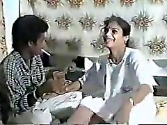 South Indian Hospital Nurse Enjoying Sex