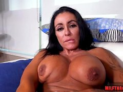 Latin milf sex and facial