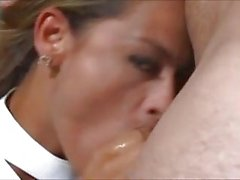 Hot suck & facial