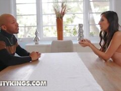'Reality Kings - Interracial Sensual Fuck With Goddess Gianna Dior And Her Step Brother'