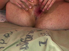 Loveballs & Dildo Playing - Spreading my ass