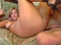 Mature blondie craves for a fat schlong