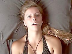 Hysterisch Orgasmus Gesicht - Ashley Masturbating # 1