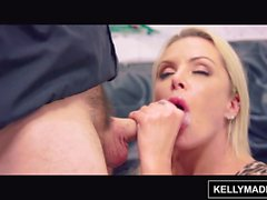 KELLY MADISON Bimbo MILF Nina Elle seduce l'artista