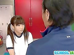 Yuri Shinomiya Schoolgirl Pussy Fucked In The Locker Room