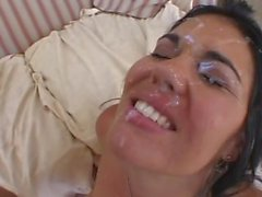 Cumshot in Face Olivia O'Lovely