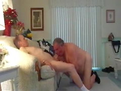 Grandpas fucking and sucking