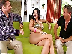 Aletta Ocean gets Analized while sucking cock