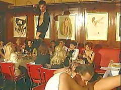 Del euro Group Sex en restaurante Pública !