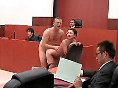 ronald and shoko fucking lawyer in court